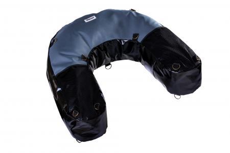 U-Bag motocyklowy enduro czarno szary PCV+ kodura