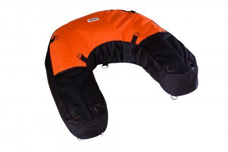 U-Bag motocyklowy enduro czarno pomarańczowy kodura 1200