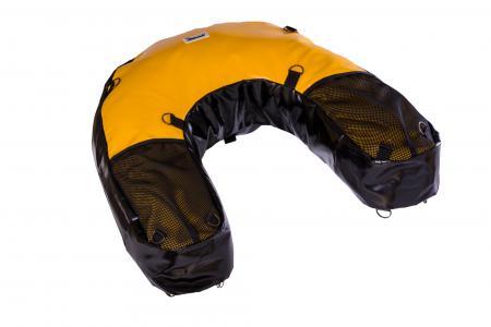 U-Bag motocyklowy enduro czarno-żółty PCV